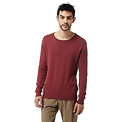 Craghoppers - Carmine red nosilife berkley crew neck sweater
