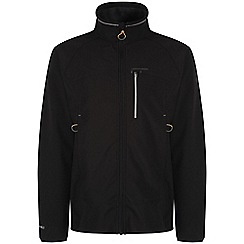 Craghoppers - Black/black rudby pro series quilted softshell jacket