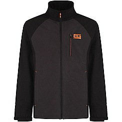 Bear Grylls - Black pepper bear grylls core softshell fleece jacket