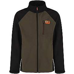 Bear Grylls - Advengreen/blk bg core softshell jacket