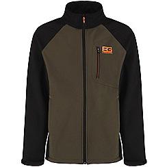 Bear Grylls - Advengreen/blk bg core softshell jacket