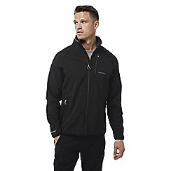 Craghoppers - Black Berwyn softshell jacket