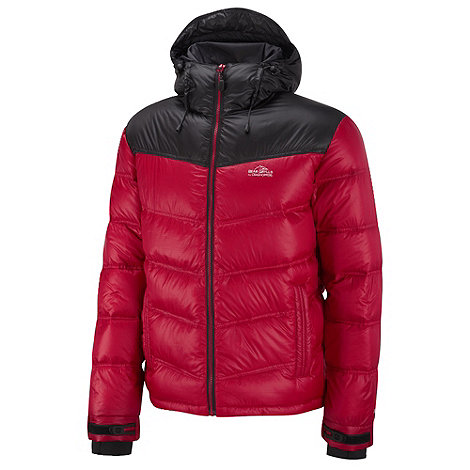 Bear Grylls - Bear Red/Black Bear Arctic Down Jacket