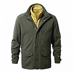 Craghoppers - Dark khaki Nosilife desert insulating 3in1 jacket