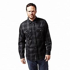 Craghoppers - Black 'Dofri' wool shirt