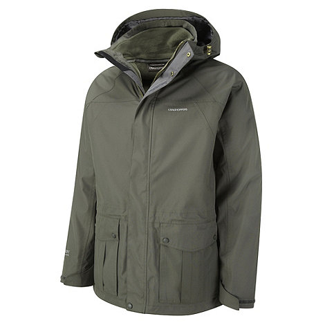Craghoppers - Dark khaki kiwi 3-in-1 jacket
