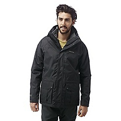 Craghoppers - Black pepper Kiwi 3-in-1 waterproof jacket