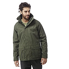 Craghoppers - Parka green Kiwi 3-in-1 waterproof jacket
