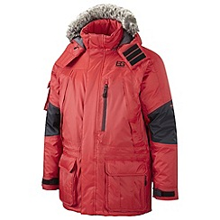 Bear Grylls - Bear Red/Black Bear Polar Jacket