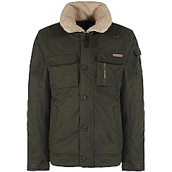 Craghoppers - Parka green faceby bomber jacket