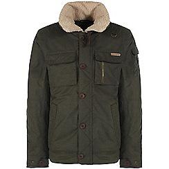 Craghoppers - Parka green faceby bomber jacket