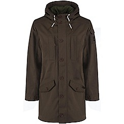Craghoppers - Dark khaki 364 3-in-1 hooded waterproof jacket
