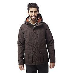 Craghoppers - Brown Kiwi 3-in-1 insulated waterproof jacket