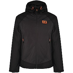 Bear Grylls - Black pepper/black bear core insulated waterproof jacket