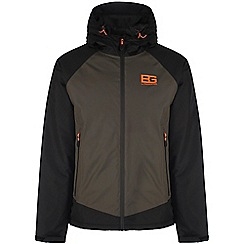 Bear Grylls - Advnture green/blk bear core insulated waterproof jacket