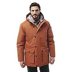 Craghoppers - Burnt orange Finch insulating waterproof jacket