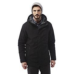 Craghoppers - Black Irvine gore-tex waterproof jacket