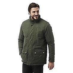 Craghoppers - Parka green Eldon plus waterproof hooded jacket