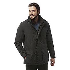 Craghoppers - Black pepper Eldon plus waterproof hooded jacket
