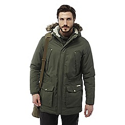 Craghoppers - Parka green Argyle waterproof insulating parka