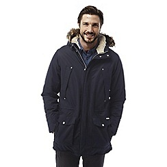 Craghoppers - Dark navy Argyle waterproof insulating parka