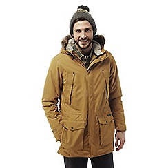Craghoppers - Spiced copper Argyle waterproof insulating parka