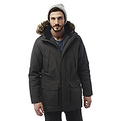 Craghoppers - Black pepper Argyle waterproof insulating parka
