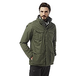 Craghoppers - Parka green Madsen waterproof insulating jacket