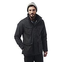 Craghoppers - Black pepper Madsen waterproof insulating jacket