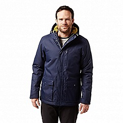 Craghoppers - Blue 'Kiwi' classic thermic waterproof jacket