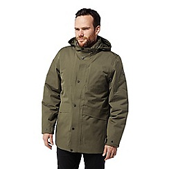 Craghoppers - Green 'Axel' insulating waterproof jacket