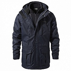 Craghoppers - Blue 'Kiwi' long 3-in-1 waterproof jacket