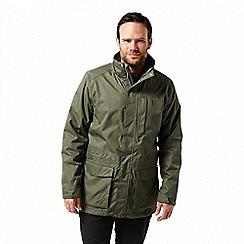 Craghoppers - Green 'Kiwi' long 3-in-1 waterproof jacket