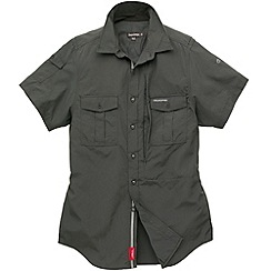 Craghoppers - Dark Grey Insect Repelling Short Sleeve Shirt