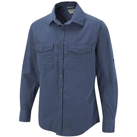 Craghoppers - Faded Indigo Classic Kiwi Long Sleeve Shirt