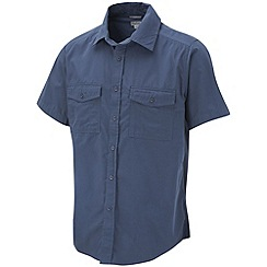 Craghoppers - Faded Indigo Classic Kiwi Short Sleeve Shirt