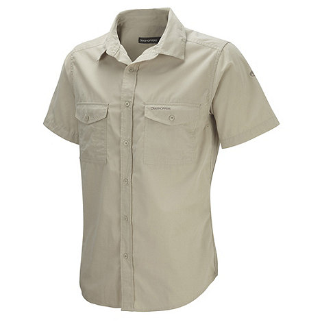 Craghoppers - Natural classic Kiwi short sleeve shirt