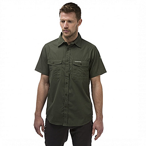 Craghoppers - Cedar kiwi short sleeved button shirt