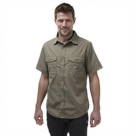 Craghoppers - Pebble kiwi short sleeved button shirt