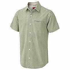 Craghoppers - Bright lime nosilife luas short sleeved shirt