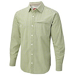 Craghoppers - Bright lime nosilife luas long sleeved shirt
