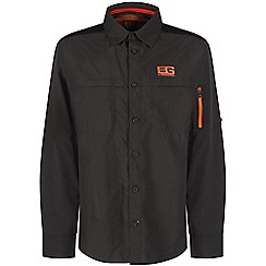 Bear Grylls - Black pepper bear grylls trek long-sleeved shirt