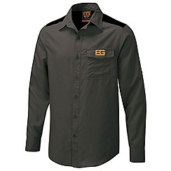 Bear Grylls - Black pepper bear grylls core long sleeved shirt