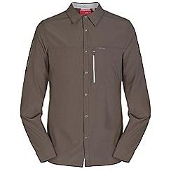 Craghoppers - Olive drab nosilife long sleeved shirt