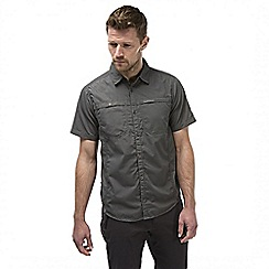Craghoppers - Ashen kiwi trek short-sleeved button shirt