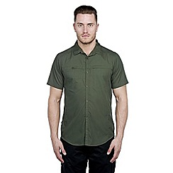 Craghoppers - Evergreen kiwi trek short-sleeved shirt