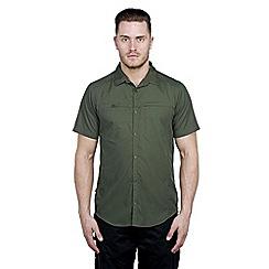 Craghoppers - Evergreen kiwi trek short-sleeved shirt