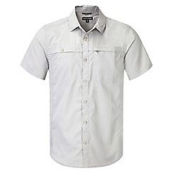 Craghoppers - Parchment kiwi trek short-sleeved button shirt