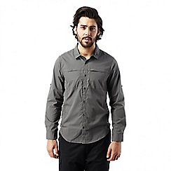 Craghoppers - Ashen kiwi trek long sleeved button shirt