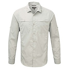 Craghoppers - Parchment kiwi trek long sleeved button shirt